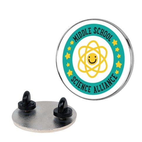 Middle School Science Alliance Pin