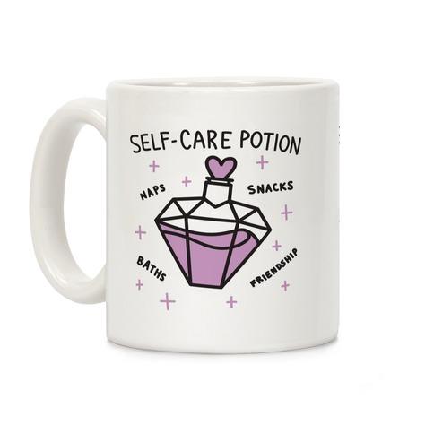 Self-Care Potion Coffee Mug
