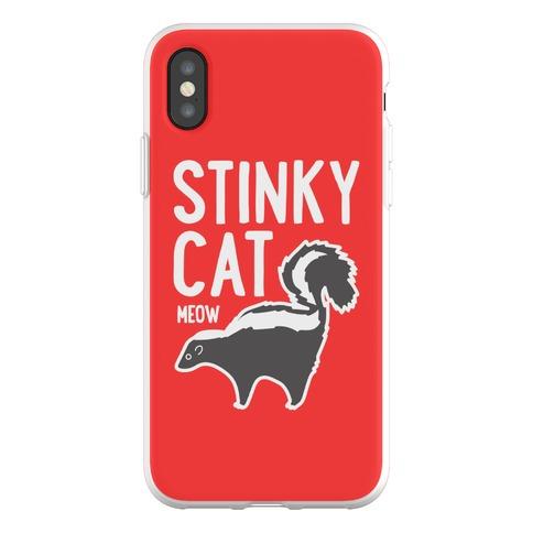 Stinky Cat Skunk Phone Flexi-Case