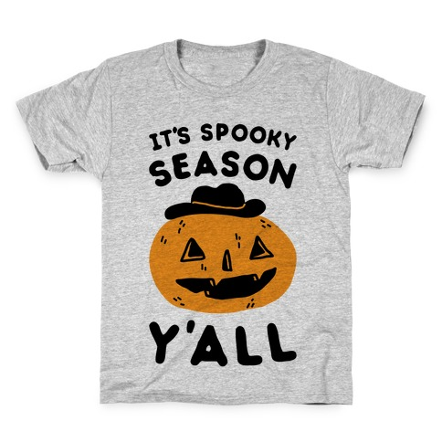 It's Spooky Season Y'all Kids T-Shirt