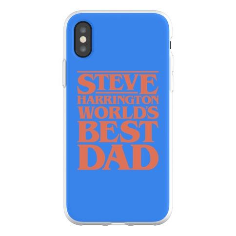 Steve Harrington World's Best Dad Parody Phone Flexi-Case