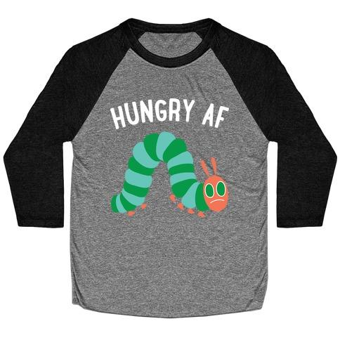 Hungry AF Caterpillar Baseball Tee