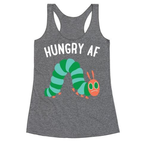 Hungry AF Caterpillar Racerback Tank Top