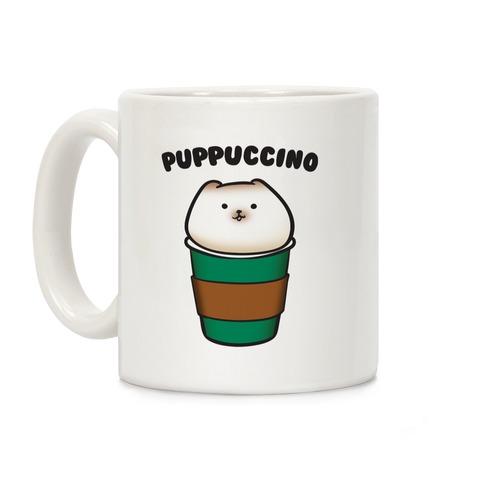 Puppuccino Parody Coffee Mug