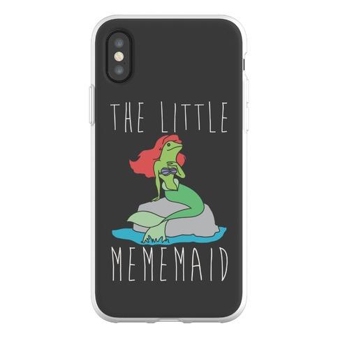 The Little Mememaid Parody Phone Flexi-Case