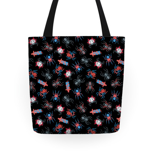 Into the spiderverse pattern Tote