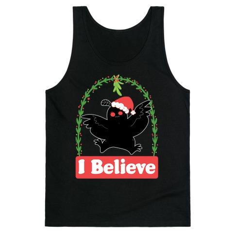 I Believe - Christmas Mothman Tank Top