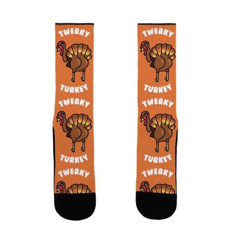 Twerky Turkey Sock