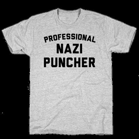 Professional Nazi Puncher Mens T-Shirt