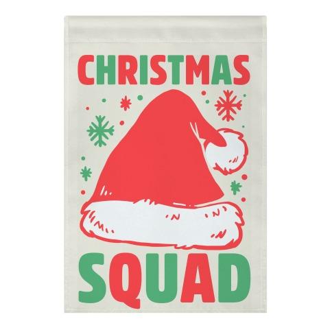 Christmas Squad Garden Flag