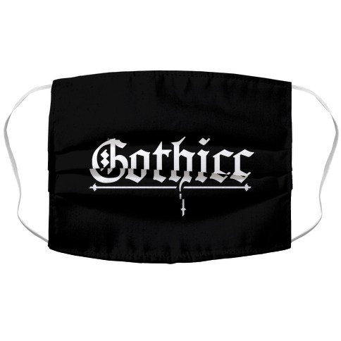 Gothicc Accordion Face Mask