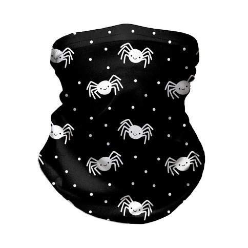 Cute Spider Pattern (Black) Neck Gaiter