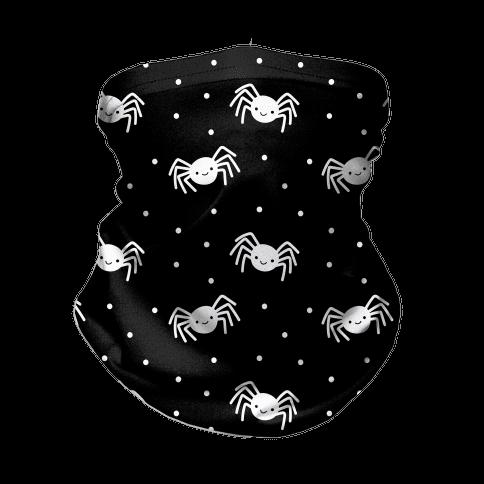 Cute Spider Pattern (Black) Neck Gaiter