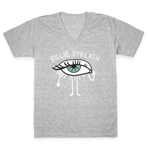 Billie Eyelash V-Neck Tee Shirt