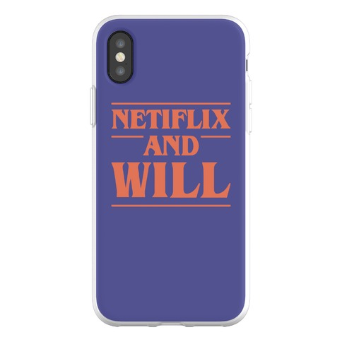 Netflix And Will Phone Flexi-Case