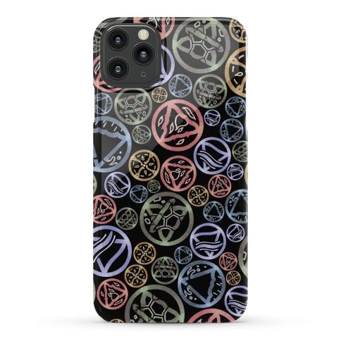 Witch's Elements Dark Pattern Phone Case