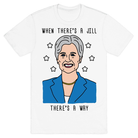 When There's A Jill There's A Way Mens T-Shirt