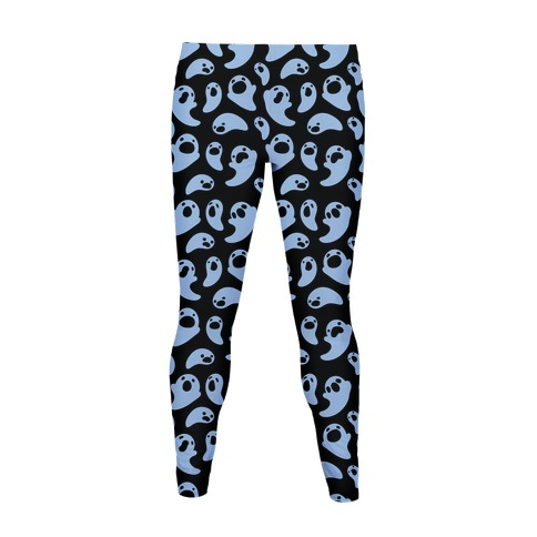 Spooky Ghost Pattern Women's Legging