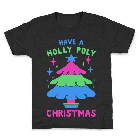 Have a Holly Poly Christmas Kids T-Shirt