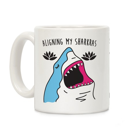 Aligning My Sharkras Coffee Mug