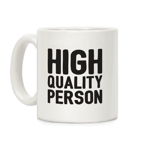 High-Quality Person Coffee Mug