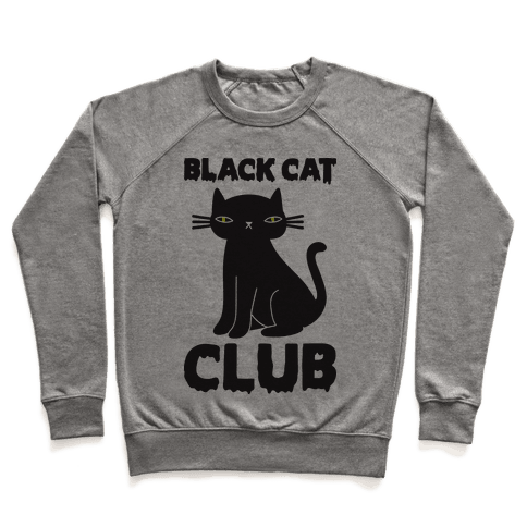 Black Cat Club Pullover