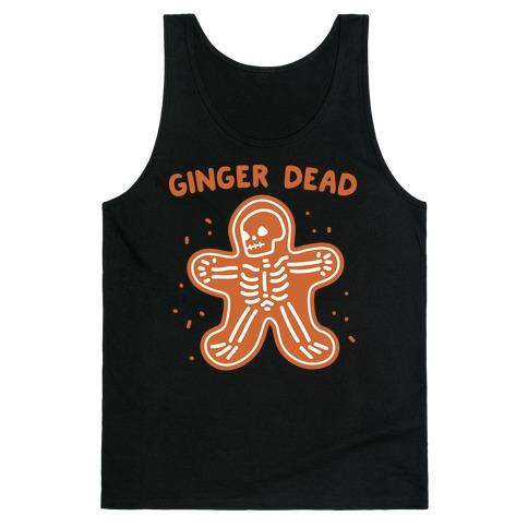 Ginger Dead Skeleton Cookie Tank Top