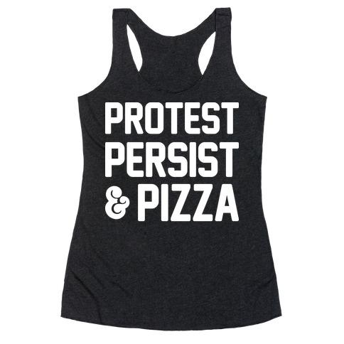 Protest Persist & Pizza Racerback Tank Top