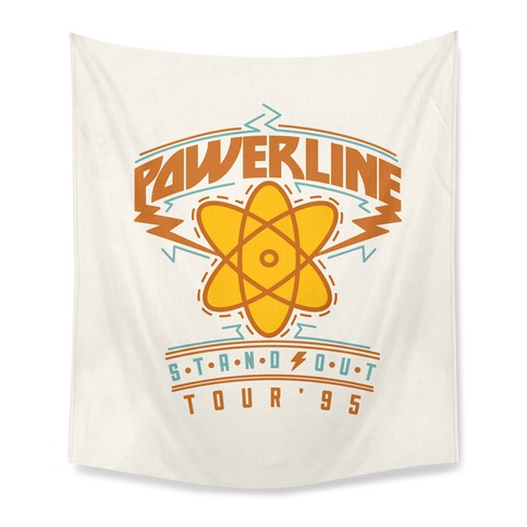 Powerline Tour Tapestry