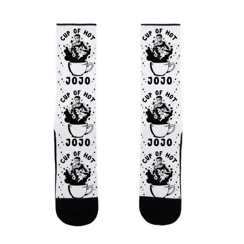 Cup Of Hot JOJO Sock