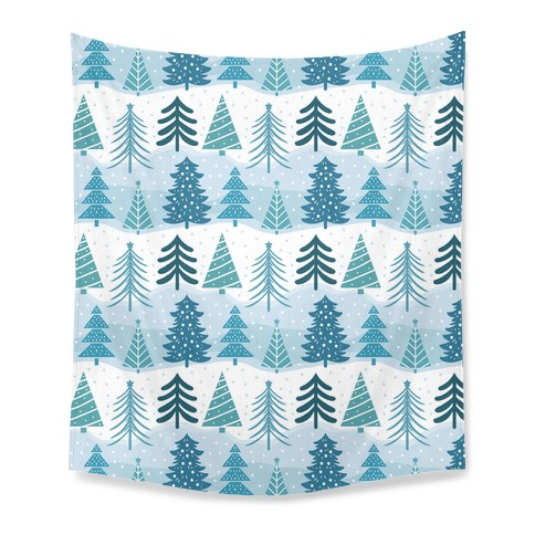 Christmas Tree Pattern Tapestry