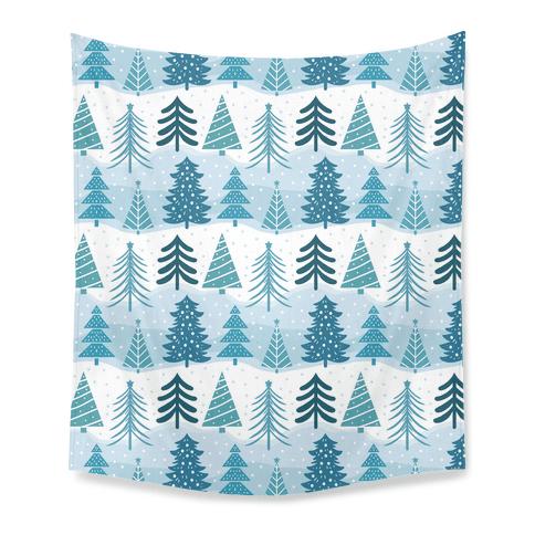Christmas Tree Pattern Tapestry