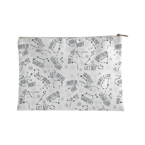 Asstrology Constellations Accessory Bag