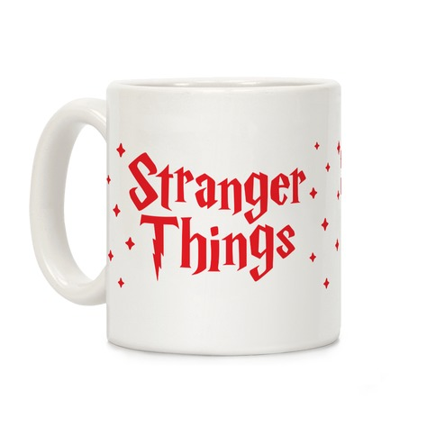 Stranger Harry Things Potter Coffee Mug