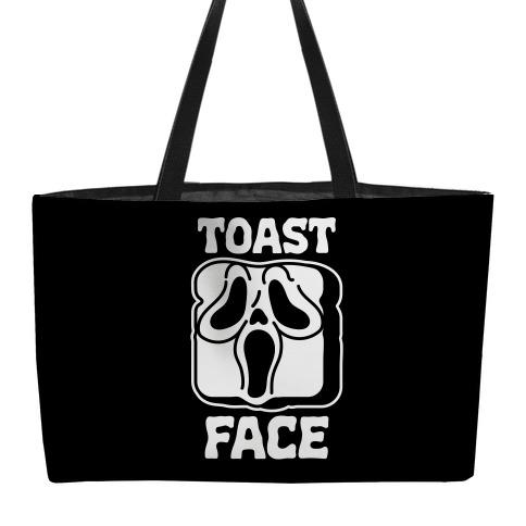 Toast Face  Weekender Tote
