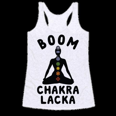 Boom Chakra Lacka Racerback Tank Top