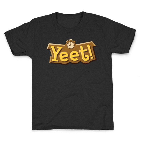 Yeet! Animal Crossing Parody Kids T-Shirt