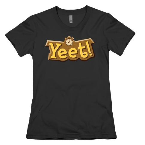 Yeet! Animal Crossing Parody Womens T-Shirt