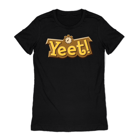 Yeet! Animal Crossing Parody Womens T-Shirt
