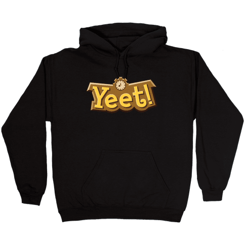 Yeet! Animal Crossing Parody Hooded Sweatshirt