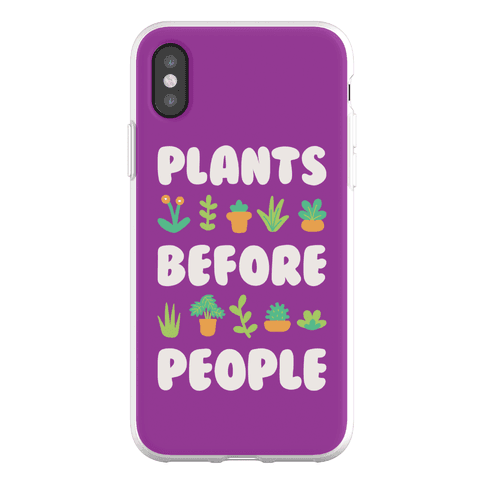 Plants Before People Phone Flexi-Case