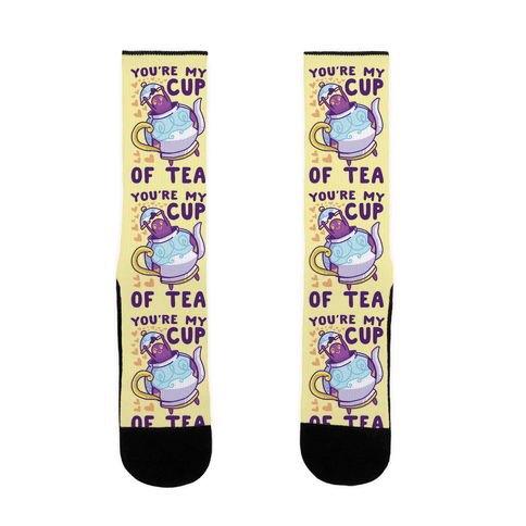You're My Cup of Tea - Polteageist Sock