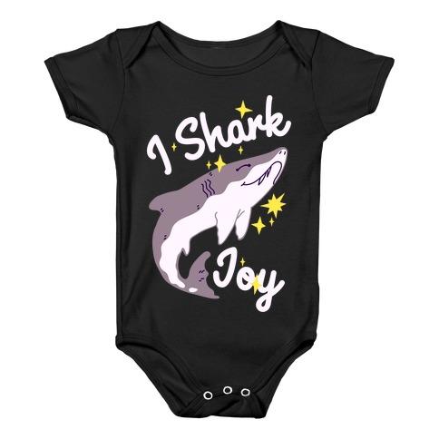 I Shark Joy Baby Onesy