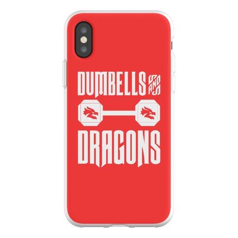Dumbells & Dragons Parody Phone Flexi-Case