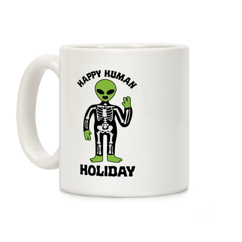 Happy Human Holiday Coffee Mug