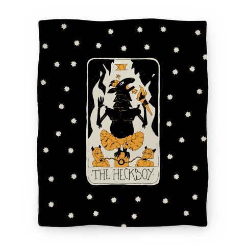 The Heckboy Tarot Card Blanket