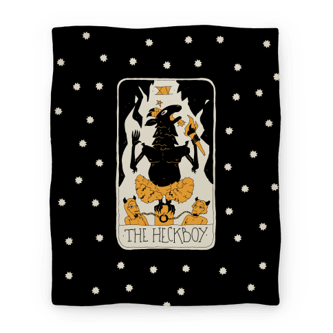 The Heckboy Tarot Card Blanket
