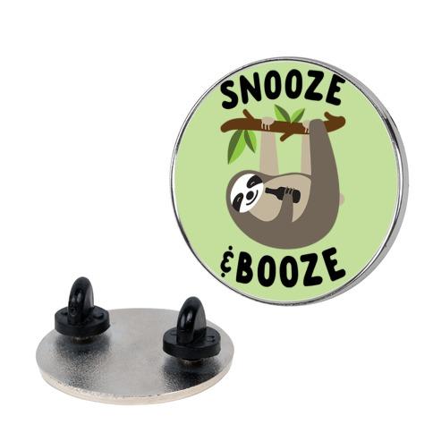 Snooze & Booze Pin