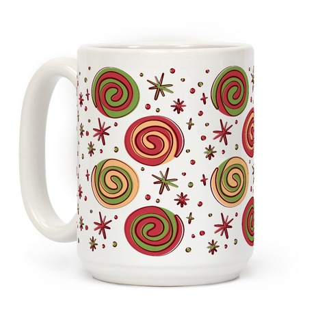 Christmas Pinwheel Cookies Coffee Mug