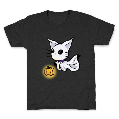 Ghost Cat Kids T-Shirt